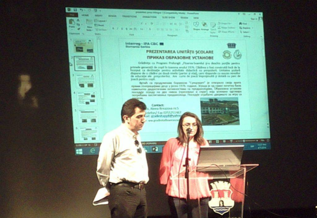 2Mirca Maran i Danijela Vulpes, predstavljanje vrtica Suncokret Resice