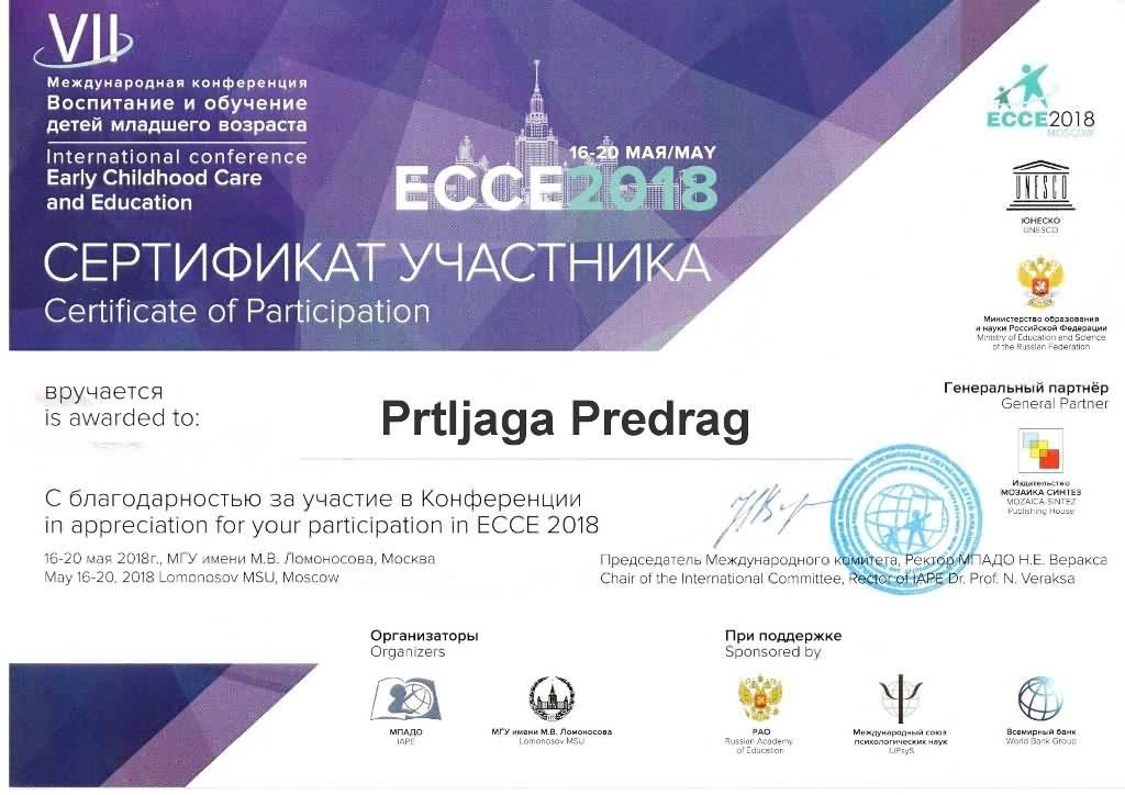 Sertifikat ECCE PP