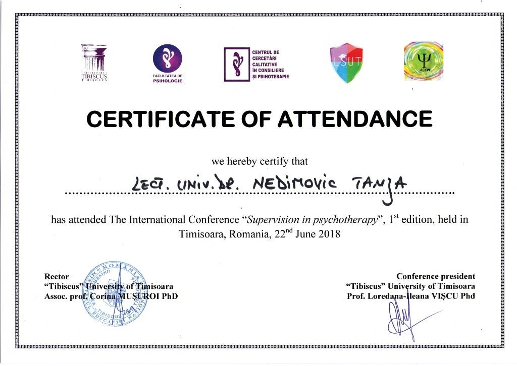 TN Tibiskus sertifikat
